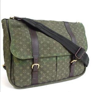 Auth Louis Vuitton Mini Canvas Diaper Bag L30S208